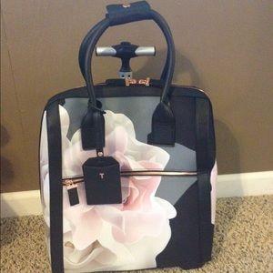 decba48a7 Ted Baker Bags | Odina Porcelain Rose Floral Travel Bag | Poshmark